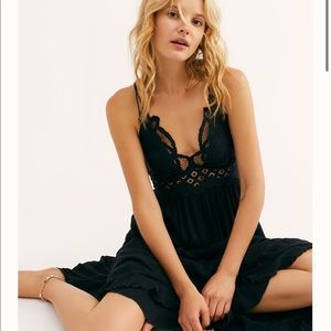 Free People FP One Adella Maxi Dress in Black